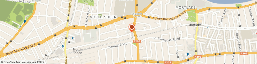 Route/map/directions to London Therapy Ltd, TW9 4QR Richmond, 40 LAMBERT AVENUE