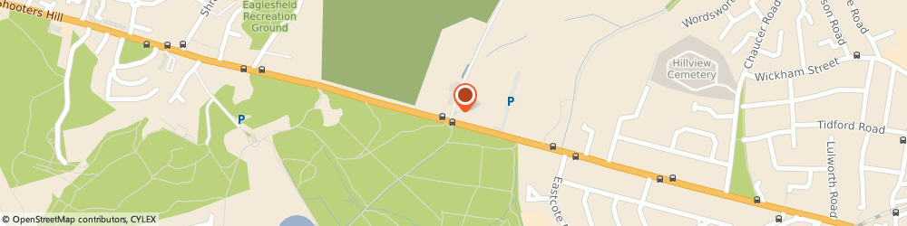 Route/map/directions to Castlewood Team Room at Woodlands Fm, DA16 3RP Welling, 331 Shooters Hill