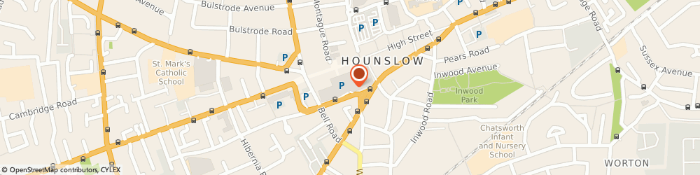 Route/map/directions to JD Sports, TW3 1RH Hounslow, Unit 28/29 Treaty Centre