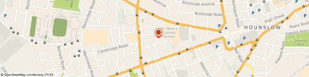 Route/map/directions to ACCOUNTIPS LIMITED, TW3 3EW Hounslow, 37 STRAFFORD ROAD