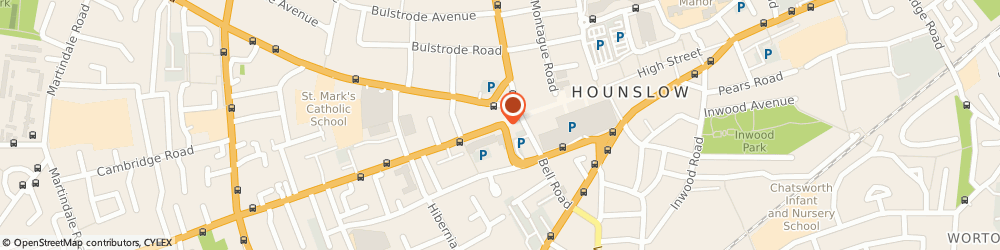 Route/map/directions to Hounslow Handyman Ltd, TW3 3JB Hounslow, 157 Staines Road