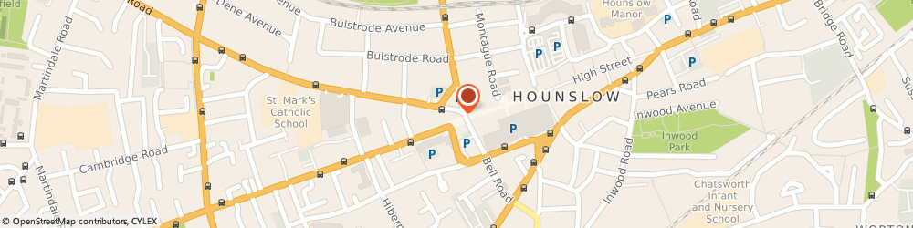 Route/map/directions to Mayfair Tax Advisors, TW3 3HJ Hounslow, Suite 20 Neals Corner 2 Bath Rd