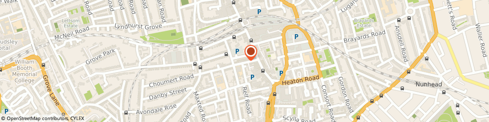 Route/map/directions to Rose Household & Party Stuff, SE15 4SE London, 24, CHOUMERT ROAD