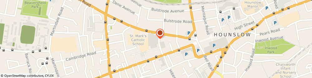 Route/map/directions to The Blue Wing Family Doctor Unit, TW3 3EL Hounslow, 92 Bath Rd