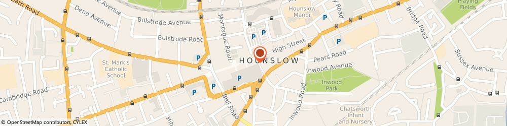 Route/map/directions to Card Factory, TW3 1DH Hounslow, 229 High Street