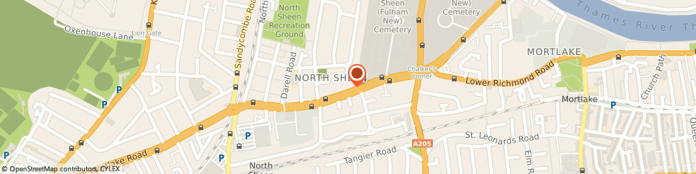 Route/map/directions to LONDON DAMP SPECIALISTS LTD, TW9 4LN Richmond, 7 Lower Richmond Road