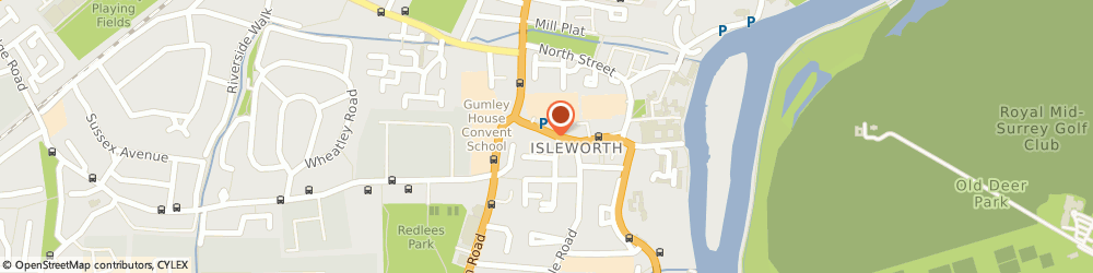 Route/map/directions to Greedies Cafe, TW7 7AA Isleworth, 49 South St