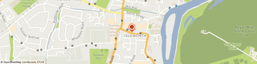 Route/map/directions to St. Marys R.c Primary School, TW7 7EE Isleworth, South Street
