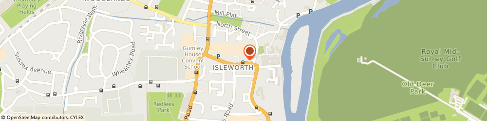 Route/map/directions to The Old Isleworth Practice, TW7 7BG Isleworth, 10 South Street