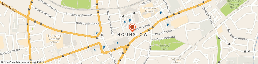 Route/map/directions to FURNITURE STORE PVT LIMITED, TW3 1RH Hounslow, 3-5 High St