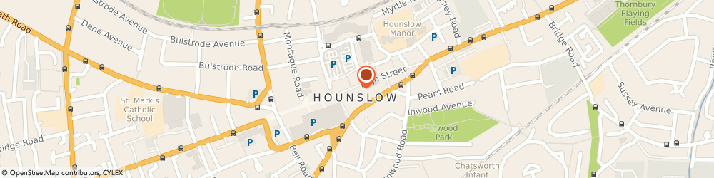 Route/map/directions to DPD Parcel Shop Location - Snappy Snaps, TW3 1BL Hounslow, 189 High Street