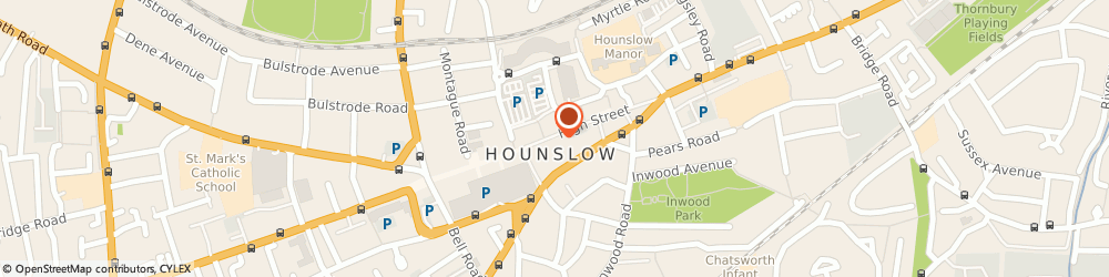 Route/map/directions to Vision Express Opticians - London - Hounslow, TW3 1BL Hounslow, 177 High Street