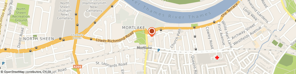 Route/map/directions to IMC Financial Services, SW14 8HY London, Lambourn House, 17 Sheen Lane