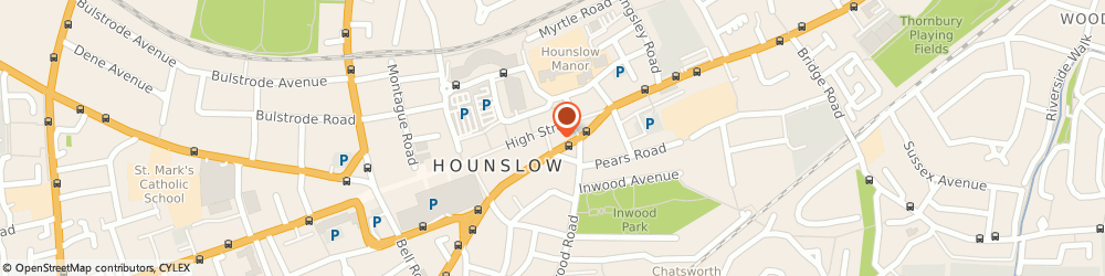 Route/map/directions to Timpson, TW3 1QL Hounslow, 145 High Street