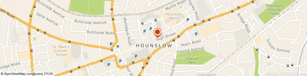 Route/map/directions to MB Tax Advice Ltd, TW3 1BQ Hounslow, 162 High Street