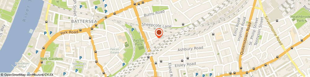 Route/map/directions to Kelly Russell Flowers, SW11 5BJ London, 7 Shellwood Road