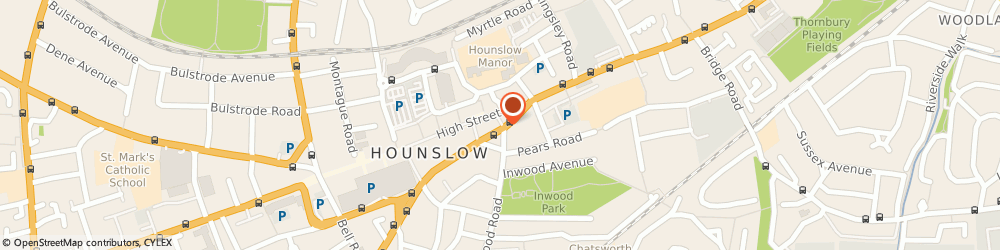 Route/map/directions to Alpha Radio Cars, TW3 1QS Hounslow, 4 Gilbert Street