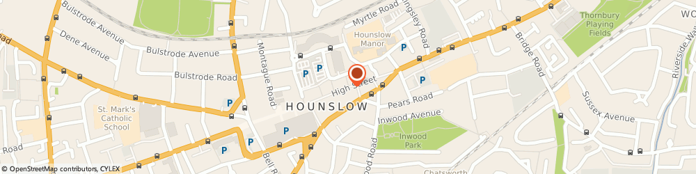 Route/map/directions to H&M, TW3 1ES Hounslow, High Street