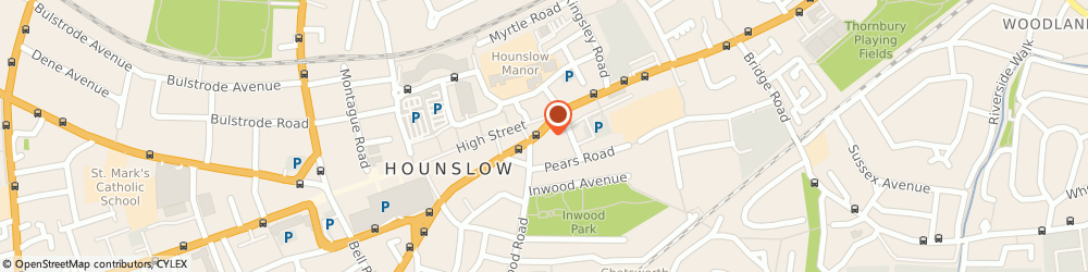 Route/map/directions to Btres.Com Limited, TW3 1UA Hounslow, 14 HANWORTH ROAD