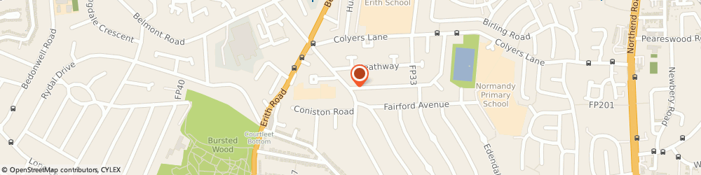 Route/map/directions to Macdonald & Co Services Ltd, DA8 3NN Erith, 2 Northumberland Way