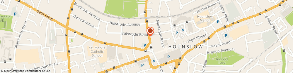 Route/map/directions to Days Hotel London Hounslow, TW31JL Hounslow, 8-10 Lampton Rd