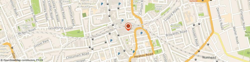 Route/map/directions to Garudio Studiage, SE15 3SN London, Unit BGN, CIP House, 133 Copeland Road