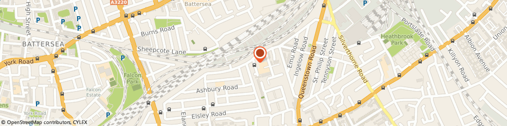 Route/map/directions to Bellum Active, SW11 5QS London, 5 Wickersley Rd