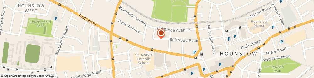 Route/map/directions to European Mirrors, TW3 3AN Hounslow, 89 BULSTRODE ROAD