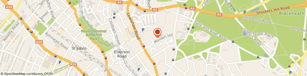 Route/map/directions to GUYCON Healthcare Management Consultancy Limited, SE13 7NP London, 55 Morden Hill