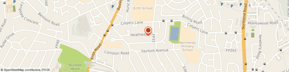 Route/map/directions to Davosciences Limited, DA8 3LZ Erith, 57 HEATH WAY