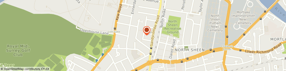Route/map/directions to Browns Window Cleaning Services, TW9 2EB Richmond, 19 TEMPLE ROAD