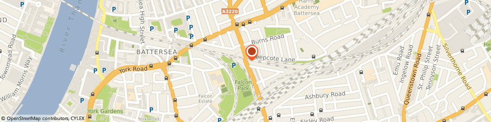 Route/map/directions to Battersea Locksmith, SW11 2DX London, Latchmere Rd