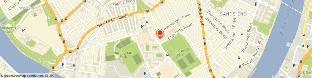 Route/map/directions to JANE SHILTON LIMITED, SW18 5EQ London, 155-157 Merton Rd, Alexander House, Lower Ground Floor