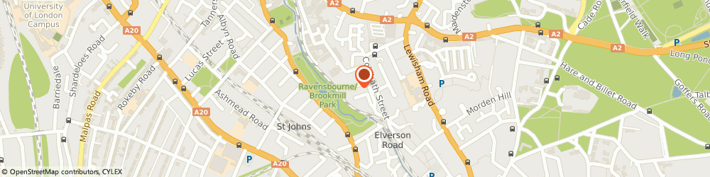 Route/map/directions to saadoun, SE13 7RH London, 11 Bissextile House, Bliss Crescent
