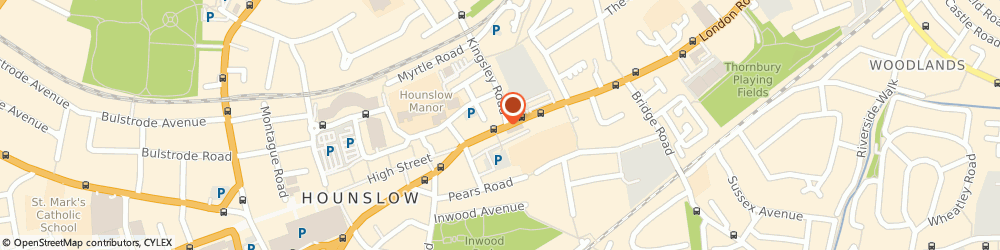 Route/map/directions to AASL THE LOCK FITTING & DOOR REPLACEMENT CO, TW3 1NW Hounslow, 24 High St