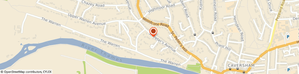 Route/map/directions to Assets Financial Services, RG4 7DH Caversham, Chiltern Chambers, 37, St. Peters Avenue