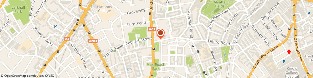 Route/map/directions to Jamm, SW9 6LH London, 261 Brixton Rd