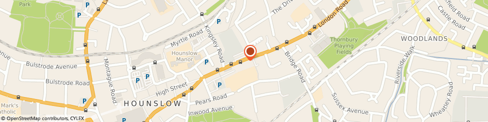 Route/map/directions to The Bottleneck, TW3 1RS Hounslow, 785 London Road