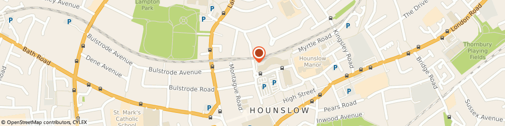 Route/map/directions to F&W CONSULTANCY LIMITED, TW3 1LS Hounslow, Ved Court, Alexandra Road