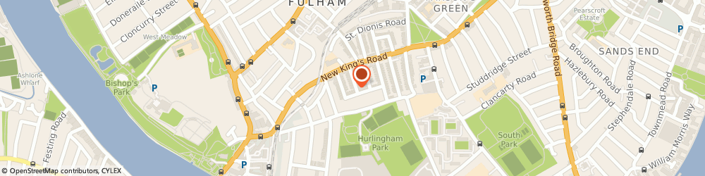 Route/map/directions to Mears Ash, SW6 3QJ London, 28 Ashington Road