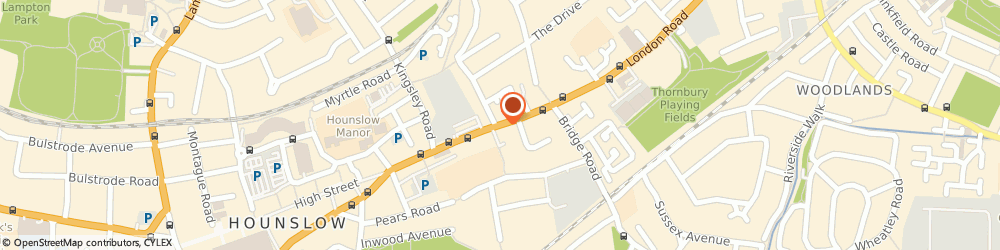Route/map/directions to great deal holidays, TW3 1SE Hounslow, 755 London road