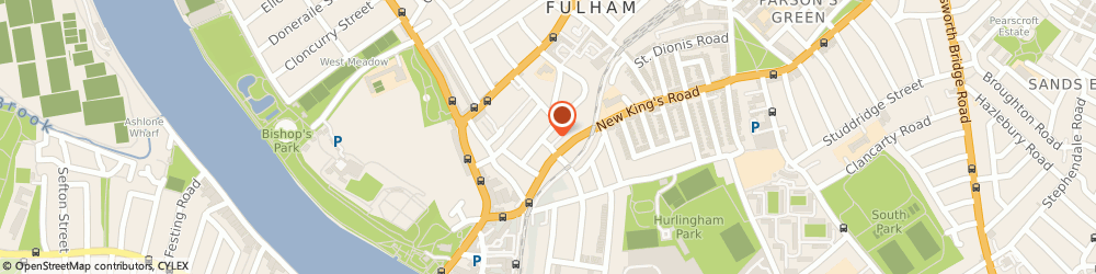 Route/map/directions to Fulham Painting & Decorating Ltd, SW6 4JX London, 40 Fulham Park Gardens