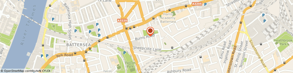 Route/map/directions to Bodypro Personal Training Studio, SW11 5GY London, UNIT 27/SOUTHSIDE QUARTER, 38 BURNS ROAD