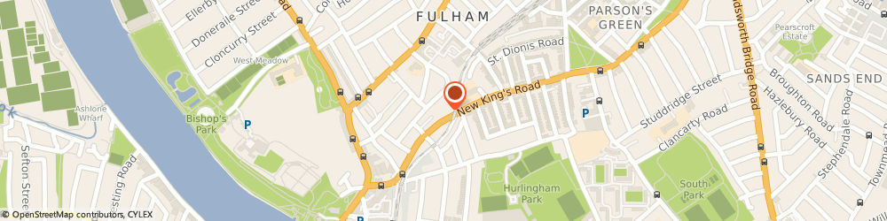 Route/map/directions to Apprite Ltd, SW6 4LZ London, UNIT 18 ELYSIUM GATE, 126 NEW KINGS ROAD