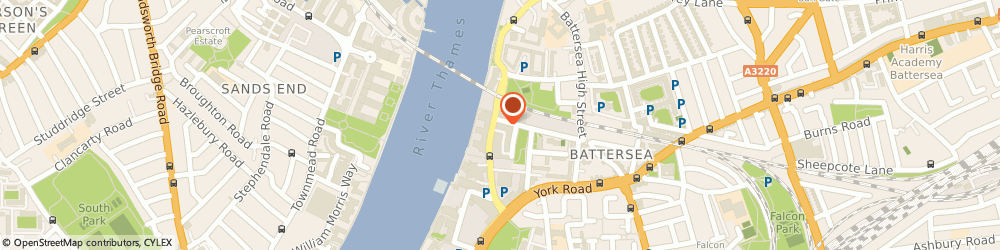 Route/map/directions to Travis Perkins, SW11 3RW London, 37 Lombard Road, Battersea