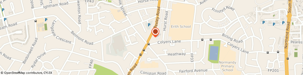 Route/map/directions to K b t Academy Of Martial Arts, DA8 3EZ Erith, 365-369 BEXLEY ROAD