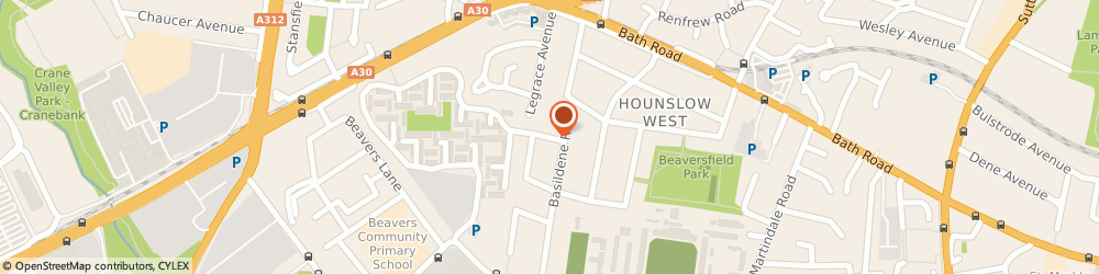 Route/map/directions to Shutters 'n' Blinds Ltd, TW4 6JQ Hounslow, Ground Floor, A1 - The Vista Centre, 50 Salisbury Road