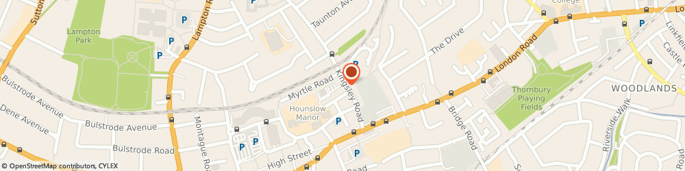 Route/map/directions to A 2 b, TW3 1QA Hounslow, 66 Kingsley Rd