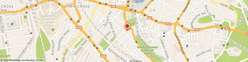 Route/map/directions to Wendys Affordable Weddings, SE8 4DR London, 94 Friendly St