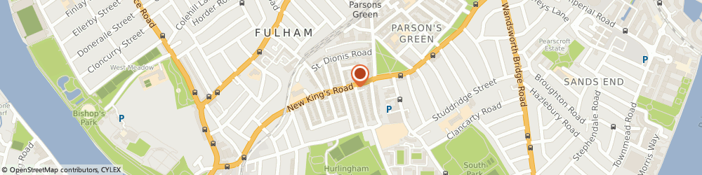 Route/map/directions to M Life, SW6 4RD London, 275 New Kings Road, Parsons Green